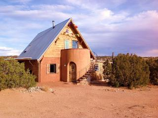 Magical passive solar adobe casita - El Rito vacation rentals