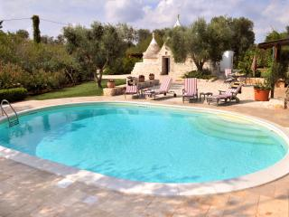 Exceptional 3 Bed Trulli with Pool, Puglia, Italy - Rosa Marina vacation rentals
