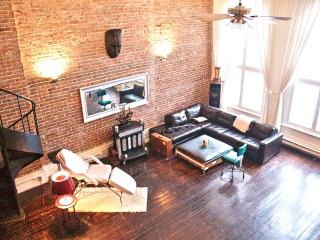artsy super central loft old montreal - Montreal vacation rentals