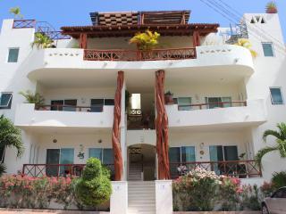 Luminous and Spacious 2 bdr steps from Mamitas - Playa del Carmen vacation rentals
