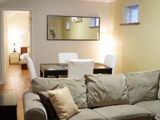 Bright Below Street Level Apartment - Brooklyn vacation rentals