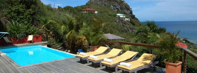 Villa Micalao SPECIAL OFFER: St. Barths Villa 174 Has An Ocean View On The Entire Bay And Most Of The Island. - Anse Des Cayes vacation rentals
