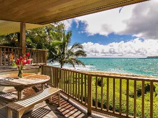 Gorgeous Beachfront Haena Home!! Summer dates available!! - Hanalei vacation rentals