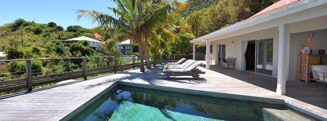 SPECIAL OFFER: St. Barths Villa 182 An Amazing View On The Lagoon Of Grand Cul De Sac. - Vitet vacation rentals
