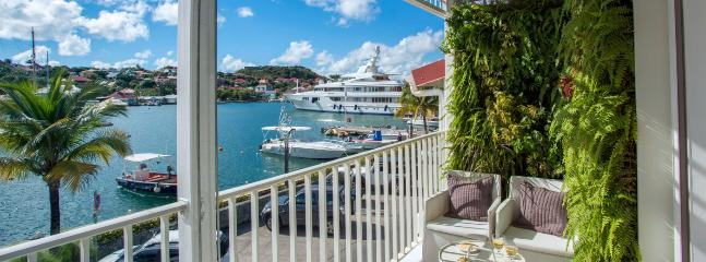 SPECIAL OFFER: St. Barths Villa 185 A Wonderful View On The Harbour And Is Within A Walking Distance From Shell Beach. - Gustavia vacation rentals