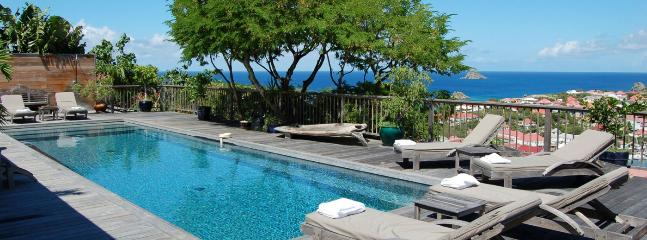 SPECIAL OFFER: St. Barths Villa 184 One Of The Best Views Of Gustavia Harbour. - Gustavia vacation rentals