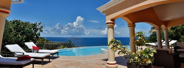 SPECIAL OFFER: St. Barths Villa 183 Located On Montjean Hillside. - Marigot vacation rentals