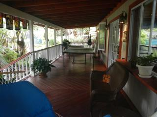 Alas Del Kealoha: Beautiful 3 BR home with hot tub - Volcano vacation rentals