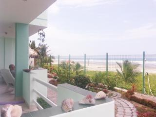 LOVELY OCEANFRONT APARTMENT - Canoa vacation rentals