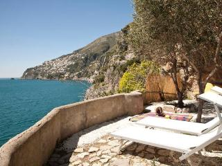 Romantic villa on the sea, into a natural cliff - Furore vacation rentals