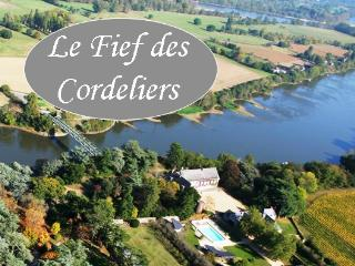 Le Fief des Cordeliers B&B Loire Valley panorama - Cande vacation rentals
