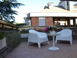 VATICAN St PETER, TERRACE PENTHOUSE, Air Con, Wifi - Rome vacation rentals