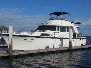 53' Hatteras 3 Bedroom Yacht In Wildwood - Wildwood vacation rentals