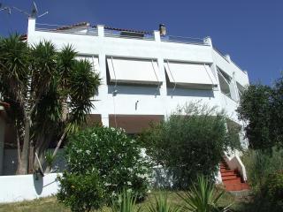 Villa Overlooking the Ionian Sea and Sleeps 11 - Kakovatos vacation rentals