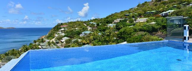 SPECIAL OFFER: St. Barths Villa 190 Overlooking The Ocean And Fregate Island. - Pointe Milou vacation rentals