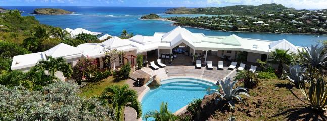 SPECIAL OFFER: St. Barths Villa 197 The View On Marigot Bay Is Extraordinary. Overlooking Marigot Bay. - Marigot vacation rentals