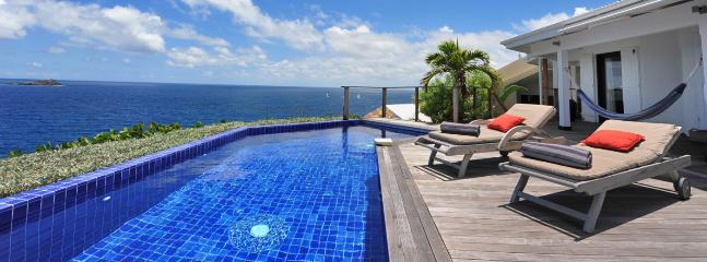 Villa Domingue SPECIAL OFFER: St. Barths Villa 207 Offers A Panoramic View On The Caribbean Sea And The Islands Around St. Barth - World vacation rentals