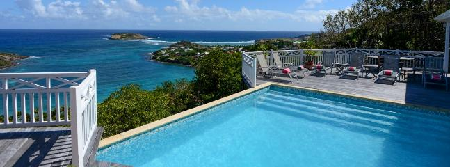 SPECIAL OFFER: St. Barths Villa 215 This Spacious Villa Is Overlooking The Marigot Bay. - Marigot vacation rentals