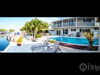 Luxurious 4 Bedroom, 3.5 Bathroom Key Largo House with Pool, Channel & Dock - Florida Keys vacation rentals