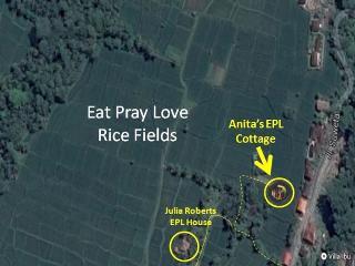 Anita's Eat Pray Love Rice Field Cottage Ubud Bali - Ubud vacation rentals