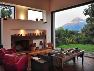 Spectacular design with sunset volcano views - Guatemala vacation rentals