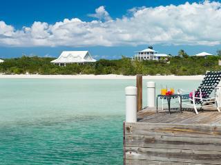Plantation- style villa in Ocean Point, ocean views with eclectic safari décor. TNC VUX - Parrot Cay vacation rentals