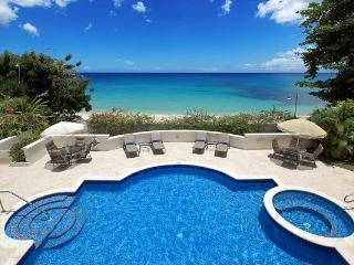 This luxurious, stylishly furnished beachfront property is the perfect place to escape the world. RL FOS - Derricks vacation rentals