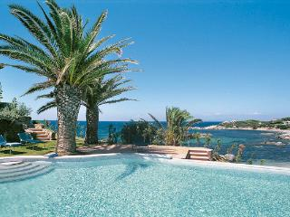 Right on the beach in a quiet and exclusive bay on the south-east tip of Sardinia. HII FEN - Sardinia vacation rentals