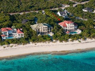 This waterfront manor- house, in Turtle Cove, has a large private swimming pool and is merely steps away from Grace Bay Beach. TNC PAP - Grace Bay vacation rentals
