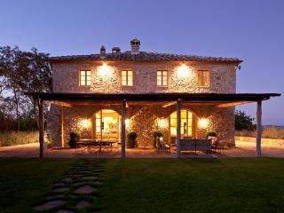 Nestled on a ridge, overlooking estate's golf course. BRV TAL - Castelfiorentino vacation rentals