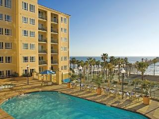 Beachfront views from the pool - Oceanside vacation rentals