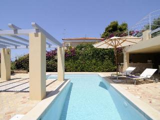Sea view villa with pool & a short walk to beach - Leonidio vacation rentals