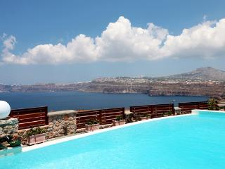 Located at Akrotiri with amazing sea and volcano views. MED MIC - Santorini vacation rentals