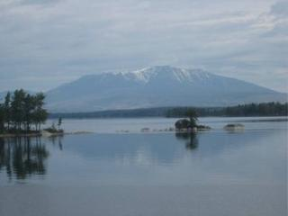 Lakefront Camp Cabin Katahdin Views BaxterPark - Millinocket vacation rentals