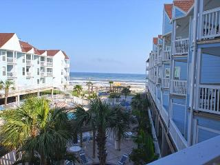 Beachfront condo with a great view of the beach! - Galveston vacation rentals
