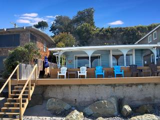 RATES REDUCED! Adorable Beach Cottage Right on the Sand - Sleeps 9  #697 - Dana Point vacation rentals