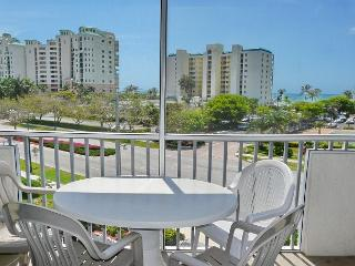 Breezy condo with heated pool, racquetball and walk to beach - Marco Island vacation rentals
