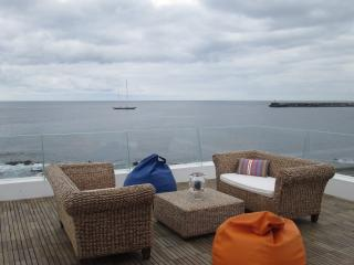Luxury Seafront House in marina with pool - Ponta Delgada vacation rentals