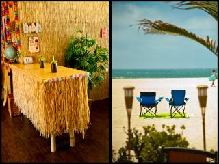 BEACH TIKI BAR w/OCEAN VIEW + PATIO + BBQ - Marina del Rey vacation rentals