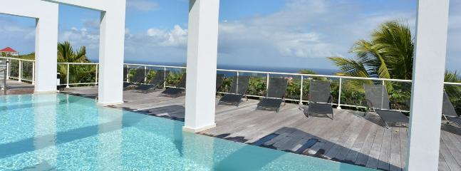 Villa Eclipse AVAILABLE CHRISTMAS & NEW YEARS: St. Barths Villa 240 Offers A Great View On The Ocean And Tortue Island. - World vacation rentals