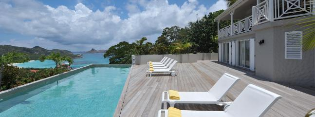 SPECIAL OFFER: St. Barths Villa 242 Enjoy The Large Sunny Terrace With Ocean View. - Saint Jean vacation rentals
