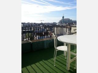 Amazing view -terrace-Marais 1BR apart (#40) - Ile-de-France (Paris Region) vacation rentals