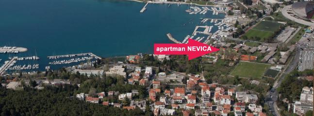 Fantastic apartment NEVICA in green oassis - Image 1 - Split - rentals