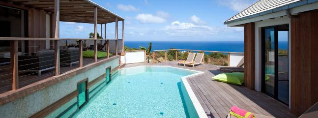 SPECIAL OFFER: St. Barths Villa 220 This Elegant Contemporary Villa Has A Panoramic Ocean View. - Vitet vacation rentals