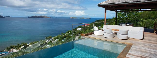 SPECIAL OFFER: St. Barths Villa 223 Facing The Sunset, This Brand New Villa Offers An Amazing Ocean View. - Pointe Milou vacation rentals