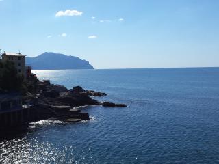 Villa Regina - Pieve Ligure straight on the rocks - Liguria vacation rentals