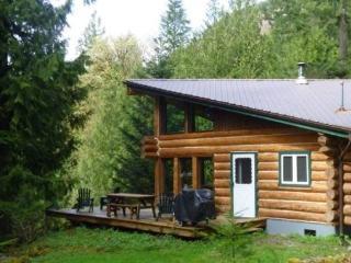 CR103sMapleFalls  - Pet Friendly Log Cabin #97 at the Lake! - Lynden vacation rentals