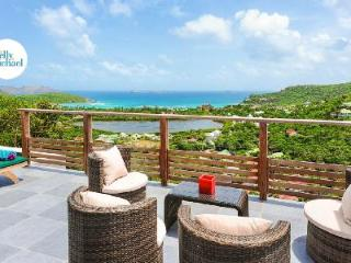 Brand new Villa Adamas with amazing ocean views and terrace with pool - Saint Jean vacation rentals