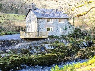 PEN Y BONT, pet-friendly riverside cottage, beams, woodburner, ideal touring base, Mallwyd Ref 25712 - Llanrhaeadr ym Mochnant vacation rentals