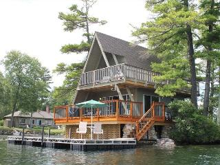 A-Frame Island Bungalow at Oliver Lodge on Lake Winnipesaukee (1AFRAME) - Belmont vacation rentals